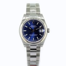 Rolex Datejust 31 Blue Baton Dial 178240 Oyster