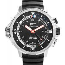 IWC Schaffhausen IW355701 Aquatimer Deep Three Black Index...
