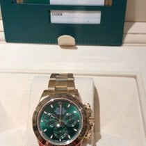 Rolex 116508 Daytona  Cosmograph 40mm Green Dial Yellow Gold