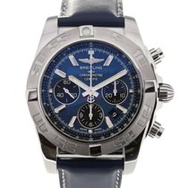 Breitling Chronomat 44 Blue Dial Chronograph Cal. B01