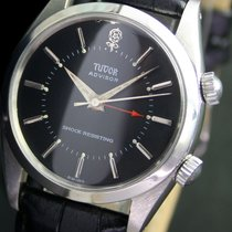 Tudor Advisor Alarm Big Rose Winding Steel Men Watch