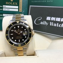 Rolex Cally - Discontinued 行貨 尾期 有內影16613LN Submariner Date...