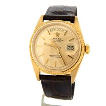 Rolex 18k Gold Day Date President Champagne 1807