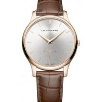 Chopard 161920-5002 L.U.C. XPS in Rose Gold - on Brown Strap...