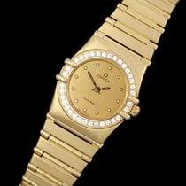 Omega Ladies Constellation Bracelet Watch - 18K Gold &...