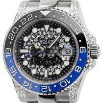 Rolex GMT-Master II Custom Batman Watch 116710LN