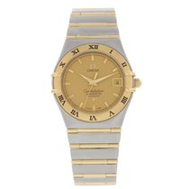 Omega Constellation 1202.10 Automatic 18K YG/SS