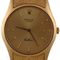 Rolex 1967 Gnts Vintage Cellini 18kt Yellow Gold Champage Dial