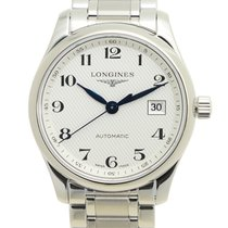 Longines Master Stainless Steel Silvery White Automatic...