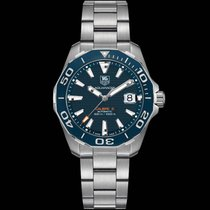 TAG Heuer Aquaracer 300M Blue Dial Steel Bracelet WAY211CBA0928
