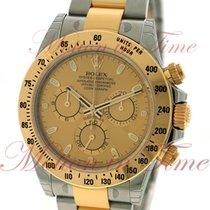 Rolex Cosmograph Daytona, Champagne Dial - Yellow Gold &...