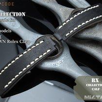 MiLTAT For Rolex Submariner & Explorer Black Calf Fur...