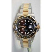 Rolex GMT Master II 116713 Stainless Steel & 18K Gold...