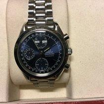 Omega Speedmaster tripple date  automatic blue dial