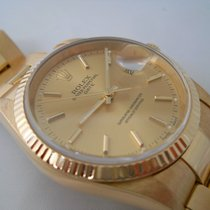 Rolex DATE REF.15238 YEARS 2001 YELLOW GOLD NEVER POLISHED