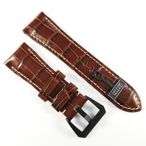 Πανερέ (Panerai) 26 / 22 mm Alligator leather strap brown...