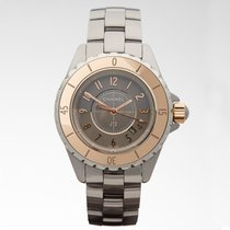 Chanel J12 Grey Dial Titanium Ceramic Automatic Ladies