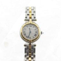 Cartier Panthere Vendome Damen Uhr Quartz Stahl/gold Schön...