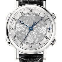 Breguet Brequet La Musicale 7800 18K White Gold Men's Watch