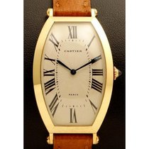 Cartier | Tonneau 18kt Yellow Gold, Made In The 1990's