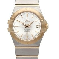 Omega 123.20.35.20.02.002 Constellation Men's Co-Axial...