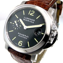 パネライ (Panerai) Unworn  Pam 48 Steel 40 Mm Luminor Marina Pam...
