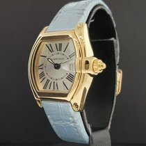 Cartier Roadster Ladies Ref. 2676 18K Yellow Gold / Silver...