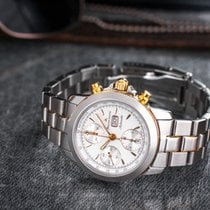 Maurice Lacroix Masterpiece Chrono Date Automatic Steel/Gilded