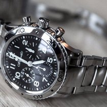 Breguet Type XX - XXI - XXII Mens Steel Watch