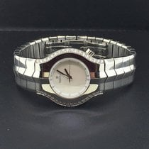 TAG Heuer Alter Ego Ladies Diamond Bezel Mother of Pearl Dial...