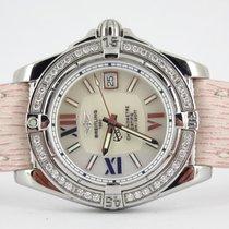 Breitling Cockpit Lady factory diamond bezel (full set / new...