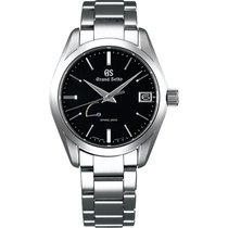 Seiko Spring Drive Black Dial Stainless Steel Men's Watch...