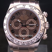 롤렉스 (Rolex) Daytona  rose gold chocolate dial full set 2017 ...