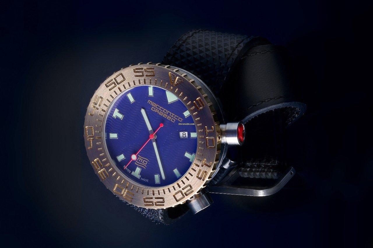 Meccanica Grezza MG01-1357 Bronze Lünette drehbar for $4,919 for ...