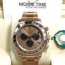 Rolex 18K Everose Pink Gold Cosmograph Daytona Pink Dial [NEW]