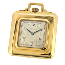 Longines 18K Gold Pocket Watch, Purse Shaped