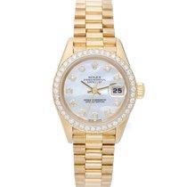 Rolex Ladies President Watch MOP Diamond 69178