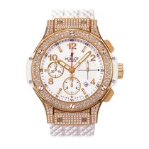 Hublot Big Bang Porto Cervo 41mm Automatic 18K Rose Gold Mens...