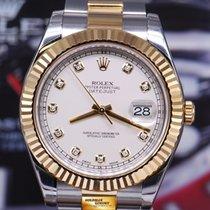 롤렉스 (Rolex) Oyster Perpetual Datejust II Half-gold Diamond...