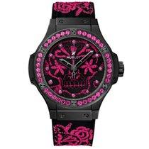 Hublot Big Bang Broderie Sugar Skull Fluo Hot Pink