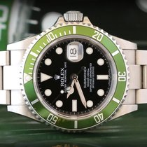 Rolex Submariner  16610LV  RRR Full Set ITA Card  Never Polished