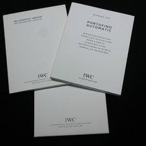 IWC kit portofino automatic ref.3565booklet papers warranty card