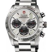 튜더 (Tudor) Fastrider Chronograph 42000-95730 Silver Index...