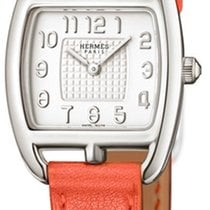 Hermès Cape Cod Silver Dial Ladies Leather Watch