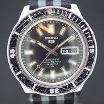 Seiko 5 Sport vintage Black Dial anno 1968