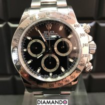 Rolex Daytona Ref. 116520 Black / Box & Papers / LC100