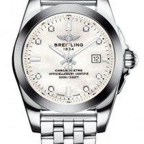Breitling A7234853-A785-791A Galactic 29mm Quartz in Steel...
