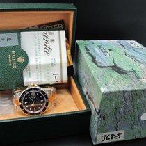 Rolex 2002 ROLEX SUBMARINER 16613 2-TONE BLUE DIAL WITH Full Set