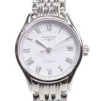 Longines Lyre Stainless Steel White Automatic L4.360.4.11.6