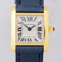 Cartier Tank Francaise Lady 18K Gold Klassik Dresswatch Top...